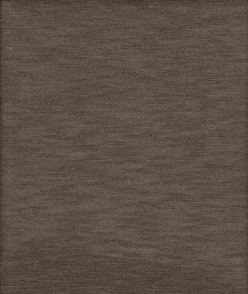 HACCI SOLID / LTBROWN HEATHER / HACCI SOLID 67%POLY 29%RAYON 4%SPANDEX