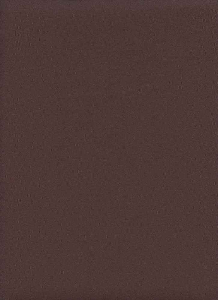 TECHNO / BROWN / DOUBLE KNIT[TECHNO] KNITTED FABRIC