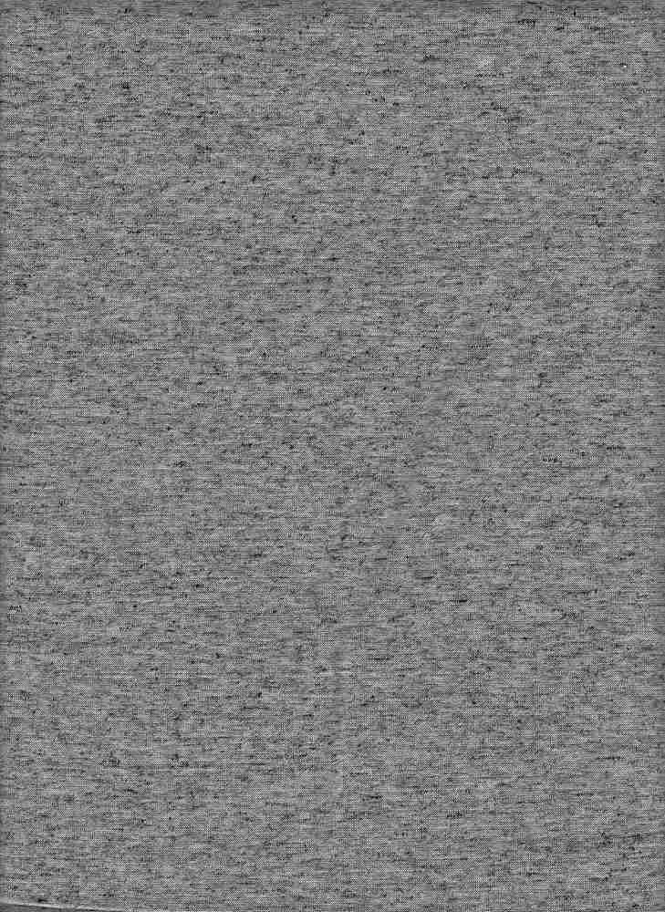 PJSY MELANGE / BLACK / LINEN JERSEY
