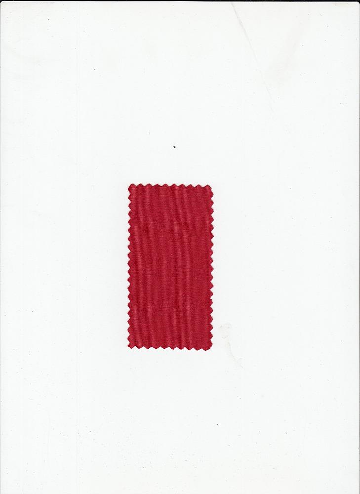 PRSJ 170 / RED / POLYRAYON JERSEY SPANDEX