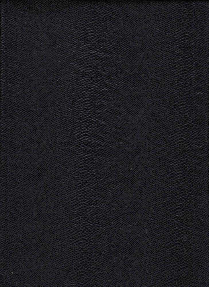 15062 / BLACK / POLY SPANDEX PLEATHER SNAKE