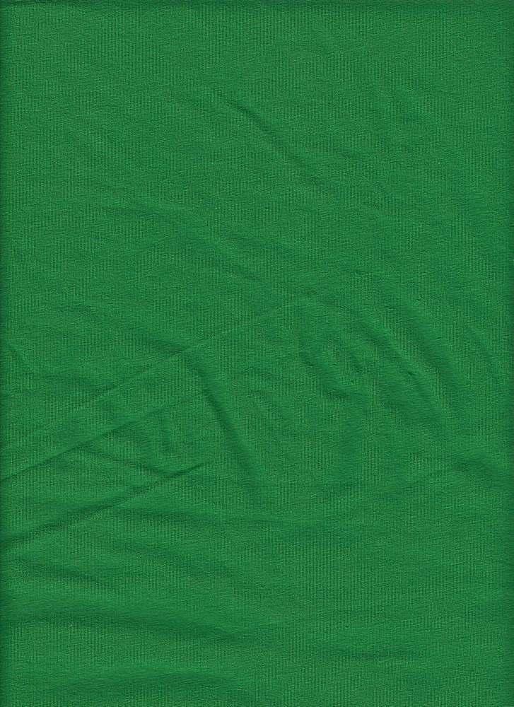 CSJ 165 / KELLY GREEN / 95/5 COTTON SPANDEX JERSEY