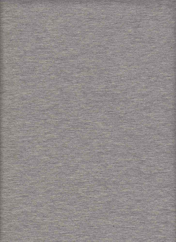 CSJ 165 / HEATHER GREY / 95/5 COTTON SPANDEX JERSEY