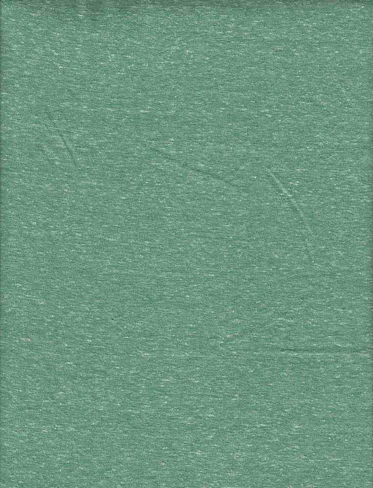 TRIBLEND / ISLAND GREEN / 50/38/12 POLY COTTON RAYON TRIBLEND