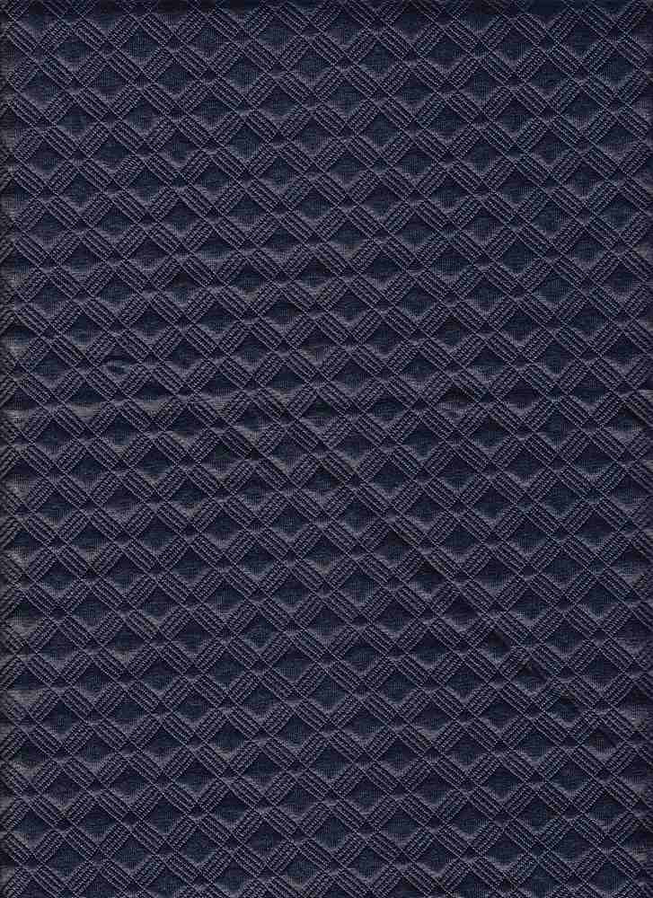 17053 / NAVY / QUILTED FOILED GIO