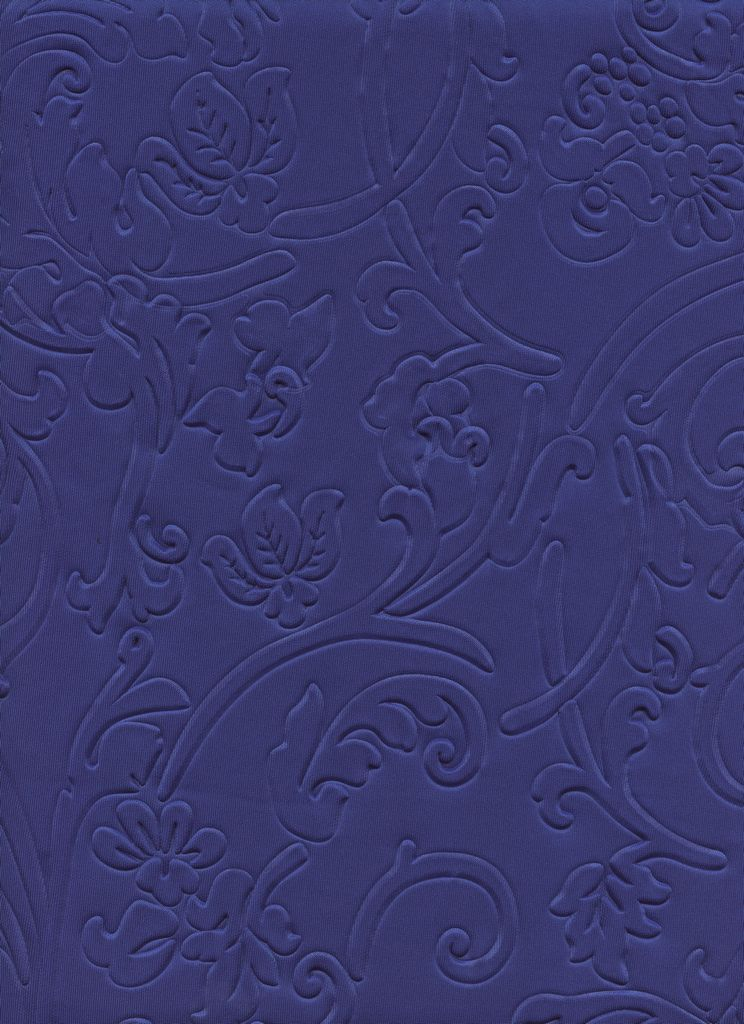 EMBOSSED TECHNO / ROYAL 2 / 95/5 POLY SPANDEX EMBOSSED TECHNO