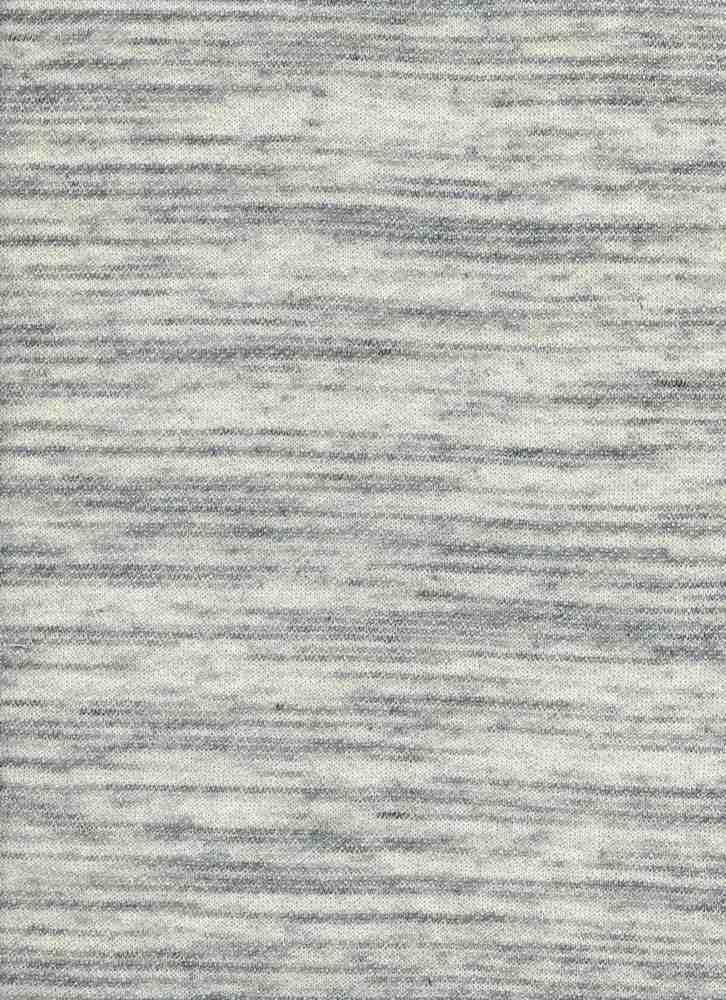 13991 / BLACK WHITE / MONO STRIPE LOOP TERRY