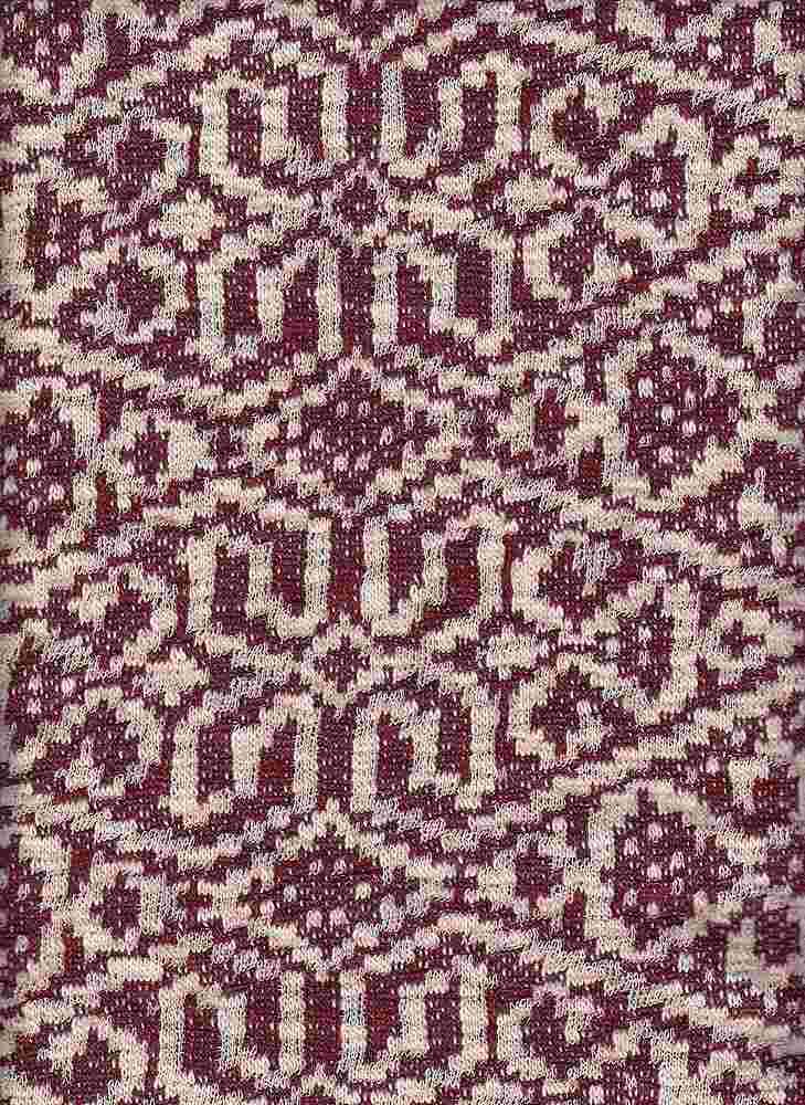 17054 / WINE/NATURAL / AZTEC LOOP TERRY