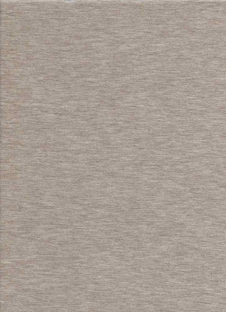 17086 / MELANGE TAUPE / BABY FRENCH TERRY