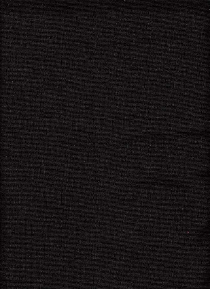 19409 / BLACK. / POLY COTTON SHERPA