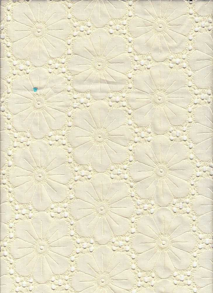 19461 / CANVAS / FLOWER EYELET