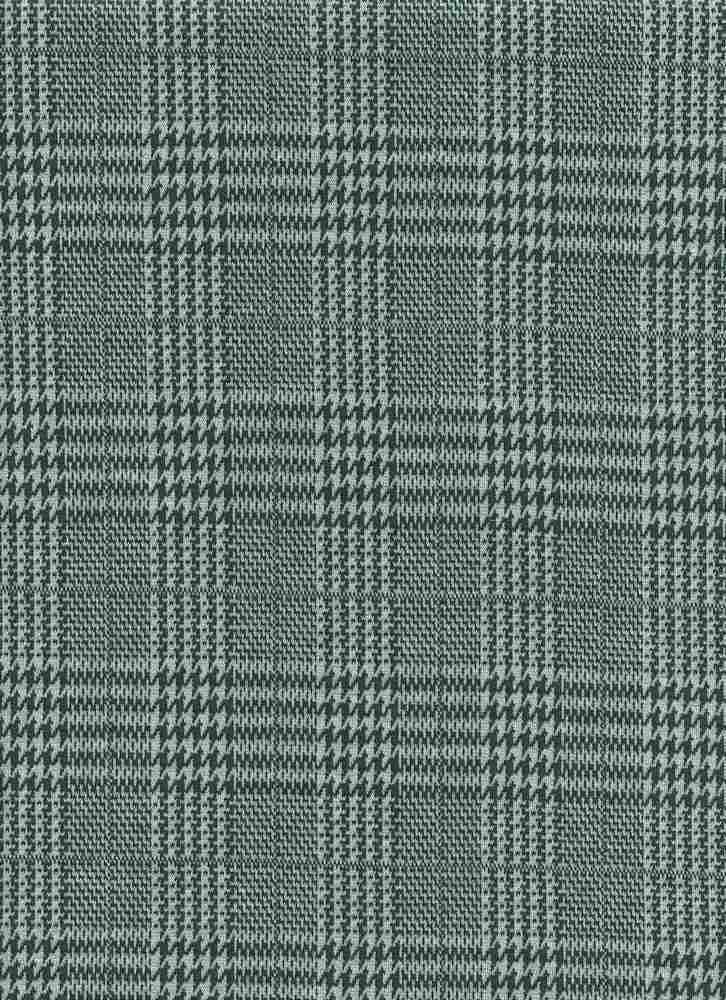 19476-A / SPRUCE / HOUNDSTOOTH MIX PLAID