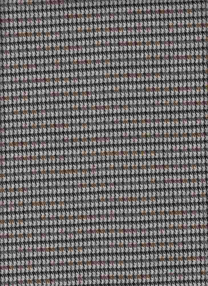 19477-A / BROWN/TAN / MINI PLAID COORDINATE