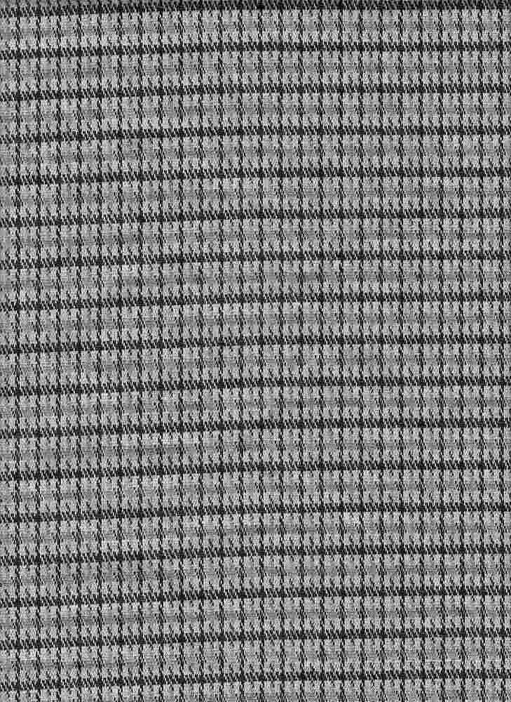 19477-A / BLACK/GRAPHITE / MINI PLAID COORDINATE
