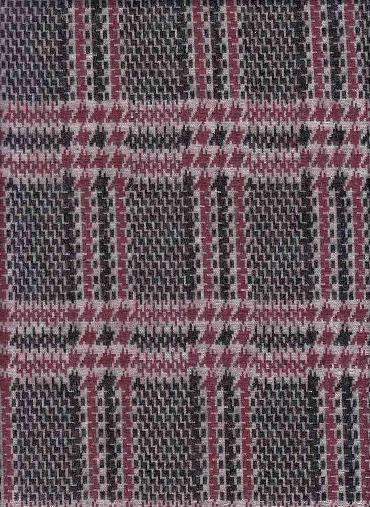 19491 / ELDERBERRY / PRINCE OF WALES JACQUARD BRUSH