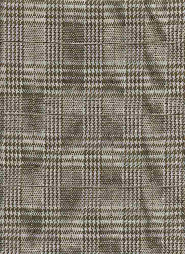 19476-A / COPPER / HOUNDSTOOTH MIX PLAID
