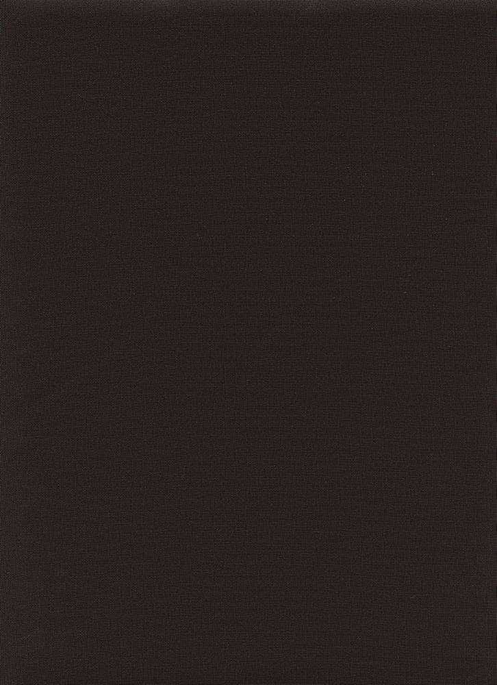 TECHNO / BLACK / DOUBLE KNIT[TECHNO] KNITTED FABRIC