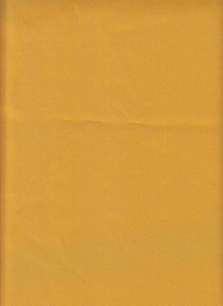 TECHNO / MUSTARD / DOUBLE KNIT[TECHNO] KNITTED FABRIC