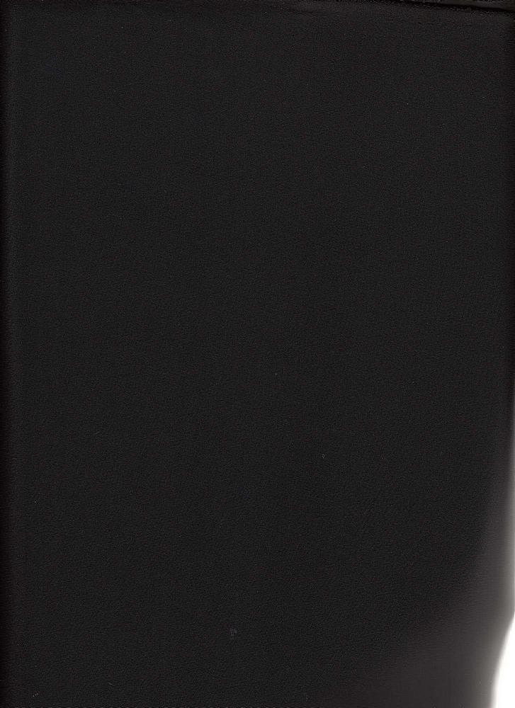 TECHNO SUPER / BLACK / DOUBLE KNIT[TECHNO] KNITTED FABRIC