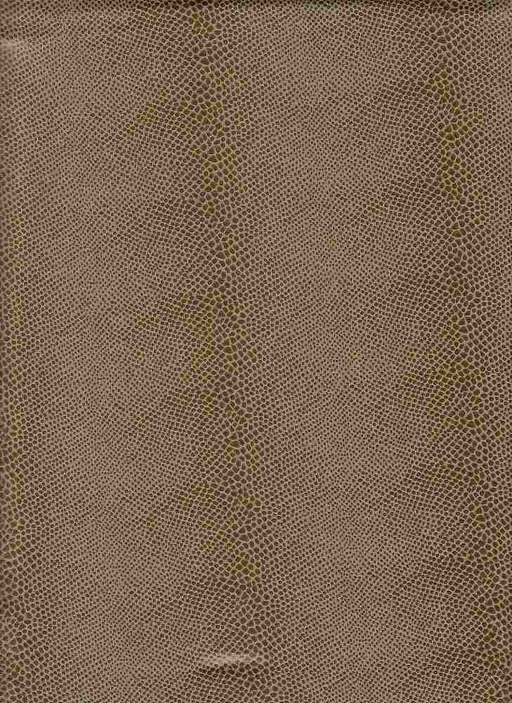 15062 / TAUPE / POLY SPANDEX PLEATHER SNAKE