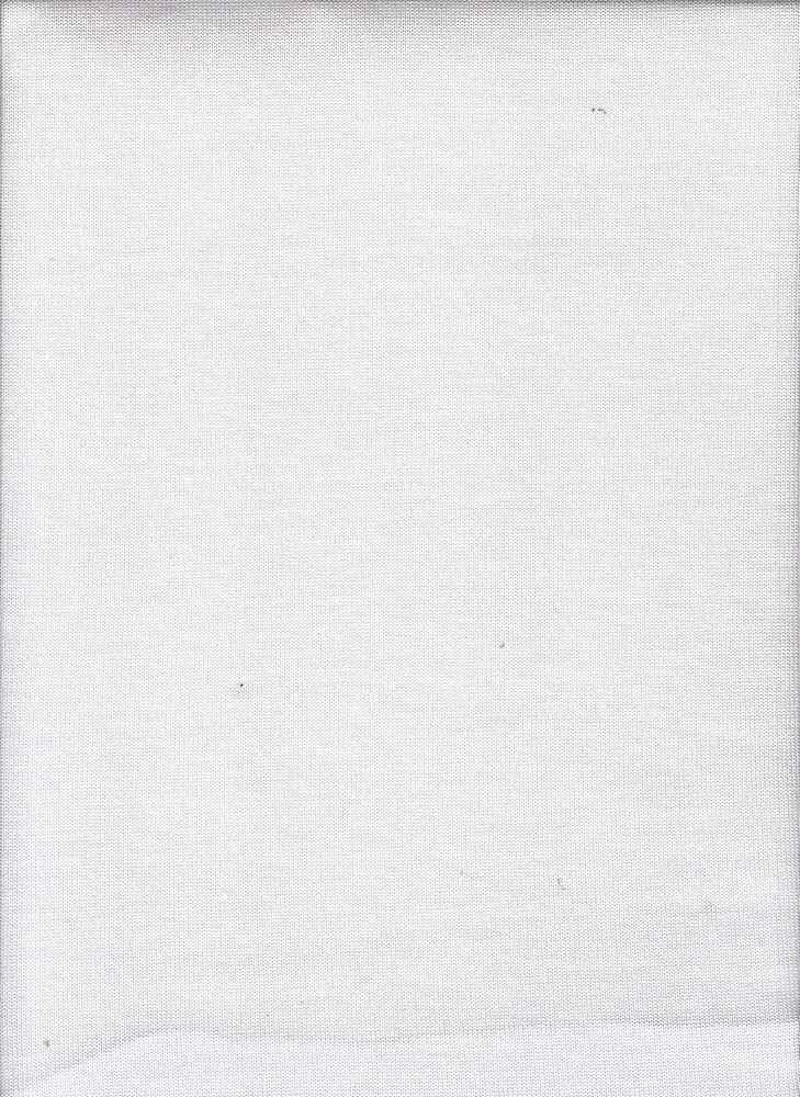 HACCI SOLID / PFP WHITE / 96/4 POLY SPANDEX HACCI