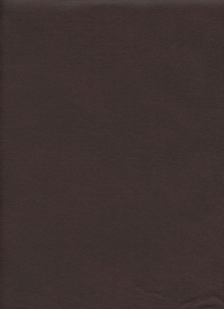 15059 / DARK BROWN / METALLIC PLEATHER