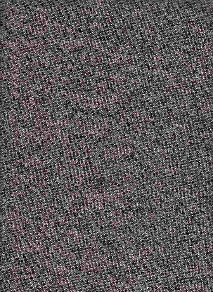 15165 / BLACK / FRENCH TERRY SLUB