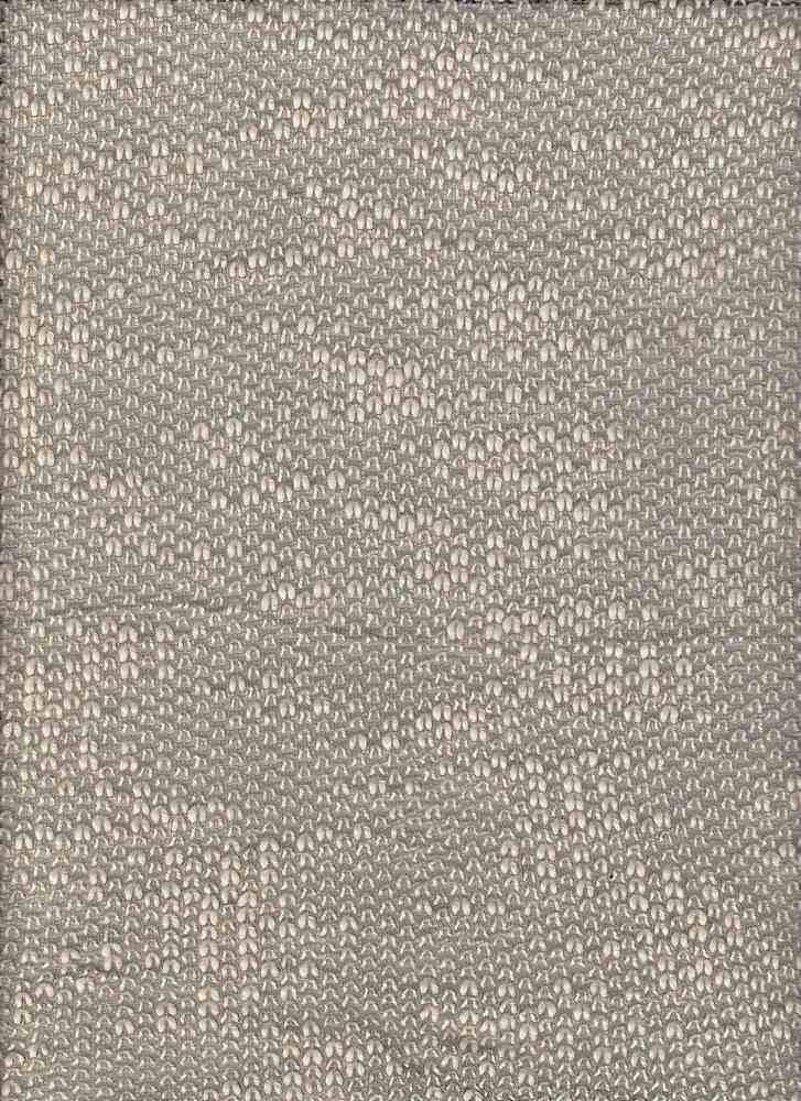 15167 / GRAY / CVC LOOP TERRY 80/20 COTTON/PLY