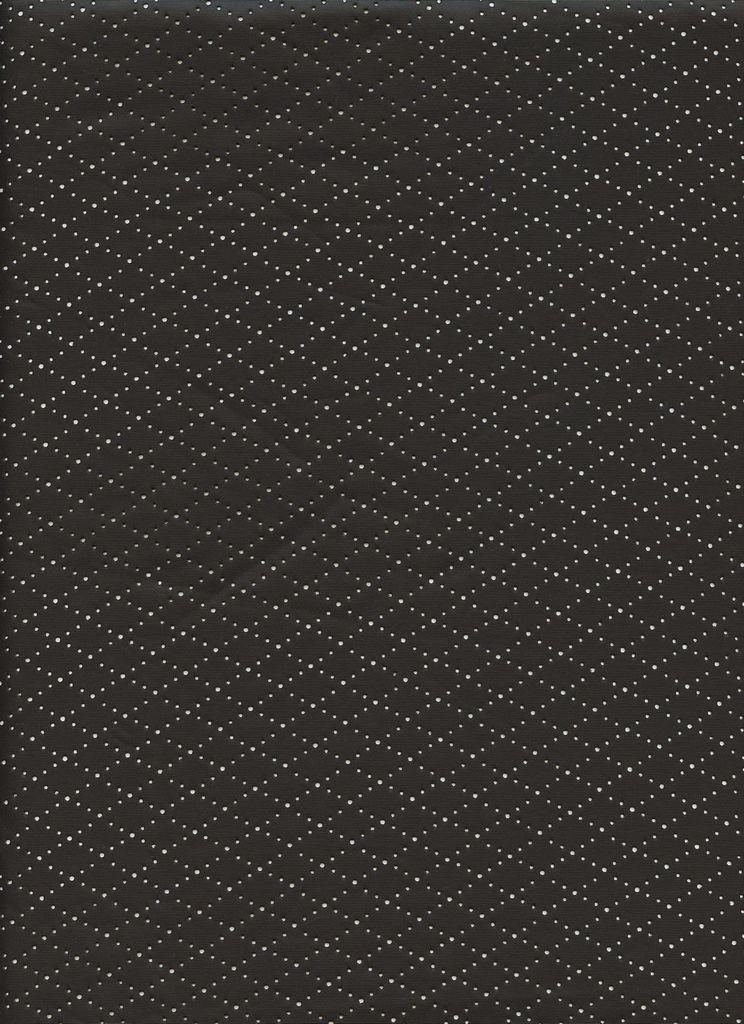 15112 / BLACK / FDY Diamond Shape LaserCutLeather[FACE POLYURETHANE