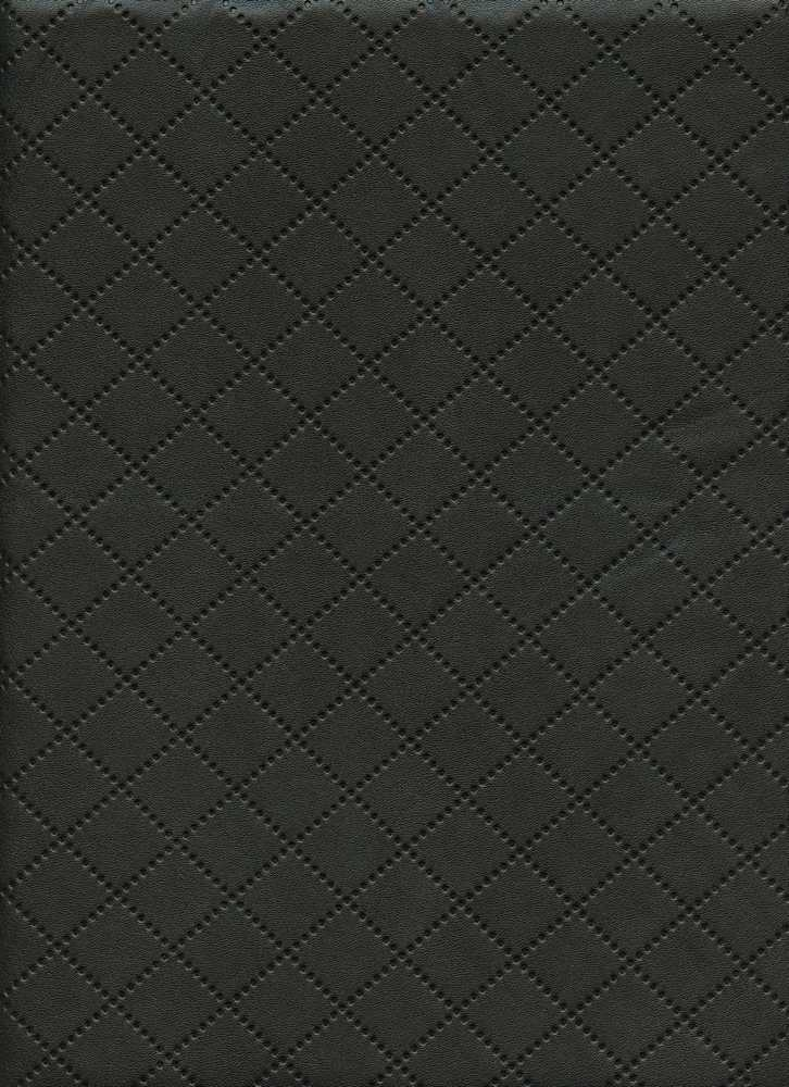 15107 / BLACK / FAKE LEATHER KNITTED, EMBOSSED
